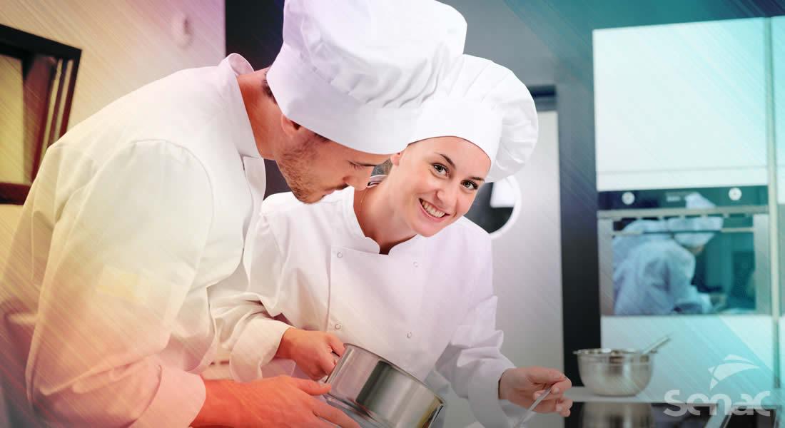 Senac oferece cursos variados na área da gastronomia na Capital