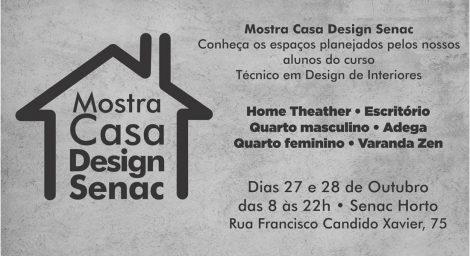 Mostra Casa Design Senac